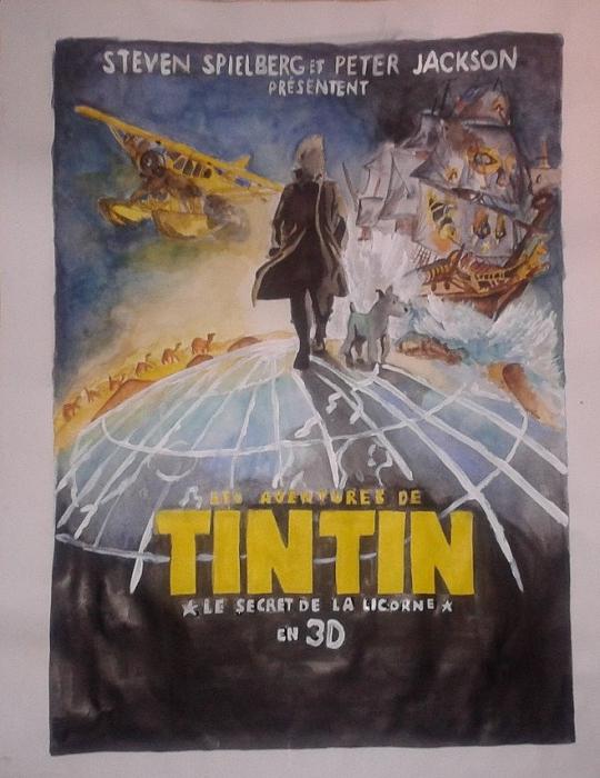 Tintin by Aureliiie